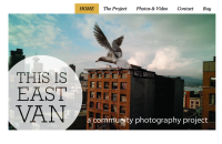 This is East Van Front of Website