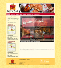 Uprising Breads Bakery Website